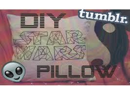 diy star wars decor pillow room decor youtube