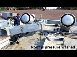how to pressure wash commercial kitchen exhaust hoods ducts and