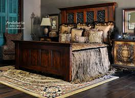 old world bedroom andalucia collection includes an impressive and hefty tuscan style