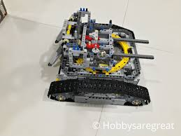 lego technic bucket wheel excavator hobbys are great review of lepin 20015 bucket wheel excavator type a