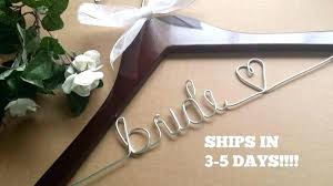 personalized wedding hangers awesome bridal hanger for wedding dress and bridal hangers 16