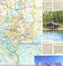 Malawi Map Map Of Malawi U0026 Mozambique Itm U2013 Mapscompany