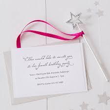 princess fairy wand party invitations by twenty seven