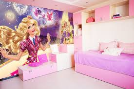wall mural barbie princess fotomurales arte kids wall mural strawberry shortcake