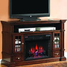 belmont 60 inch electric fireplace media console caramel oak