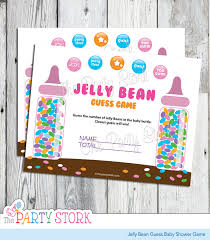 baby shower guessing candy guessing jelly bean guess baby shower