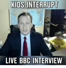 Bbc Memes - kids interrupt live bbc interview meme on me me