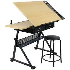 bureau de dessin table à dessin inclinable bureau d architecte table en verre à