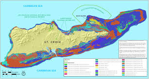 Map Of Coral Reefs Where Is The Us Virgin Islands Geography Virgin Islands Map Coral