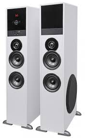 kenwood home theater powered subwoofer rockville tm8w white powered home theater tower speakers 8