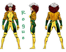 Rogue Halloween Costume Rogue Style Costume Custom Suzi Fox Style Ness