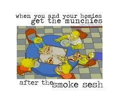 Meme Generator Homer Simpson - homer simpson 420 weed daydream cartoon stoner memes