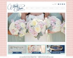 wedding planner website may june events new brand identity and website doodle dog creative