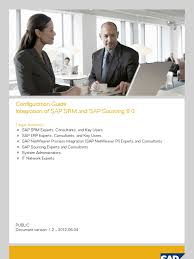 integrating srm and sourcing business process sap se