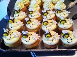 bumble bee cupcakes bumble bee theme cupcakes made w fondant bee s and s yelp