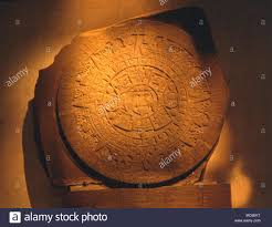 aztec sun god calendar stock photos aztec sun god calendar stock