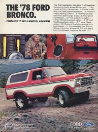 1978 ford truck ad 4 wheels pinterest ford bronco ford and