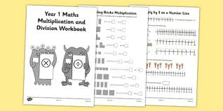 year 1 maths multiplication and division workbook year 1