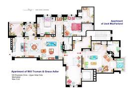 in apartment floor plans tv floorplans how the apartments in your favourite shows are