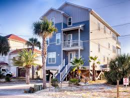 Backyard Burger Panama City Beach Water Front Dream Home With Private Heate Vrbo