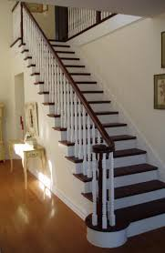 Painted Stairs Design Ideas Pleasurable Design Ideas Wood Staircase Exquisite New Staircasewas