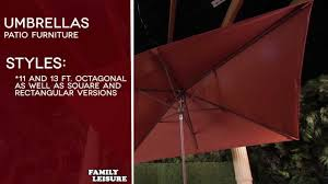 Bunnings Cantilever Umbrella by Umbrellas Patio Furniture Buyers Guide Youtube