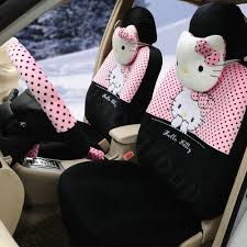 pink and black cars buy wholesale cute polka dots hello kitty universal automobile