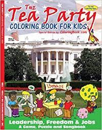 tea party coloring book 8 5x11 coloringbook big