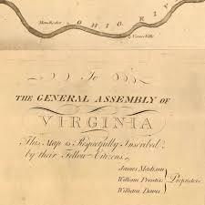 Richmond Va Map Map Of Virginia 1807 James Madison Battlemaps Us