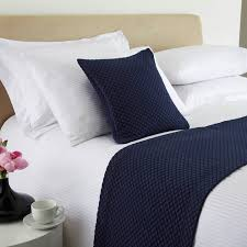 diamond weave bed runners u0026 throws king of cotton