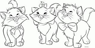 cat coloring page shimosoku biz