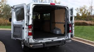 nissan work van 2017 2016 nissan nv cargo van back doors youtube