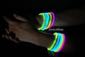 glow bracelets 5mm premium single color assortment glow bracelets 100 per package