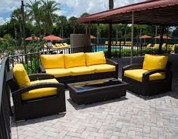 When Is The Best Time To Buy Patio Furniture  Why - Yellow patio furniture
