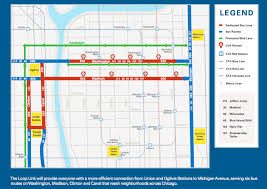 Chicago Loop Map Cta Customer Alert Details Map Of Chicago Blue Line You Can See A