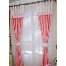 curtains for girls bedroom dream cute girls and kids room pink and white polka dot curtains