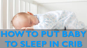 getting baby to sleep in crib cloudmom youtube