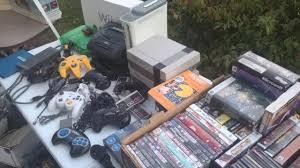 Excellent Sales Live Flea Market Yard Sales Video Game Hunting Ep 24 Excellent