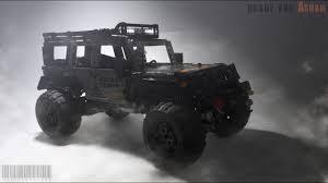 jeep wrangler batman lego jeep wrangler offroading youtube