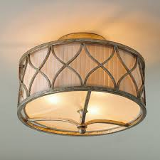 Flush Ceiling Light Fixtures Harlequin Semi Flush Ceiling Light Shades Of Light