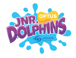 Swimming Logo Design by Junior Dolphins Program