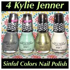 4 new kylie jenner sinful colors signature collection king kylie