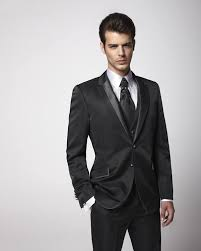 2015 dark grey mens wedding tuxedos peaked lapel wedding suits for