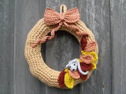 Crochet Halloween Garland Crochet Wreath Patterns For Every Season