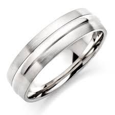 silver mens wedding bands silver wedding rings uk