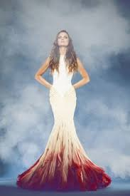 ombré wedding dress say yes to the colourful wedding dress the ombre wedding dress