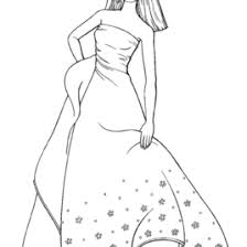 coloring pages barbie doll kids drawing coloring pages