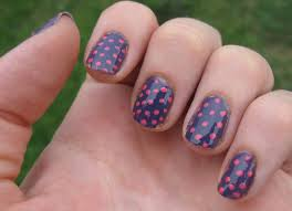 amazing red white and blue nail art red blue and grey floral nail
