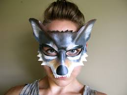 wolf halloween costumes wolf leather mask or child sizes halloween mask