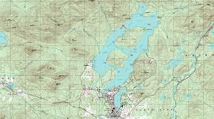 Lake Placid New York Map by Martha Day Realty Adirondack Waterfront